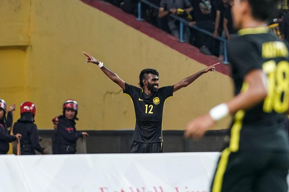 29th SEA Games KL2017 Men Football - Malaysia vs Myanmar - N Thanabalan