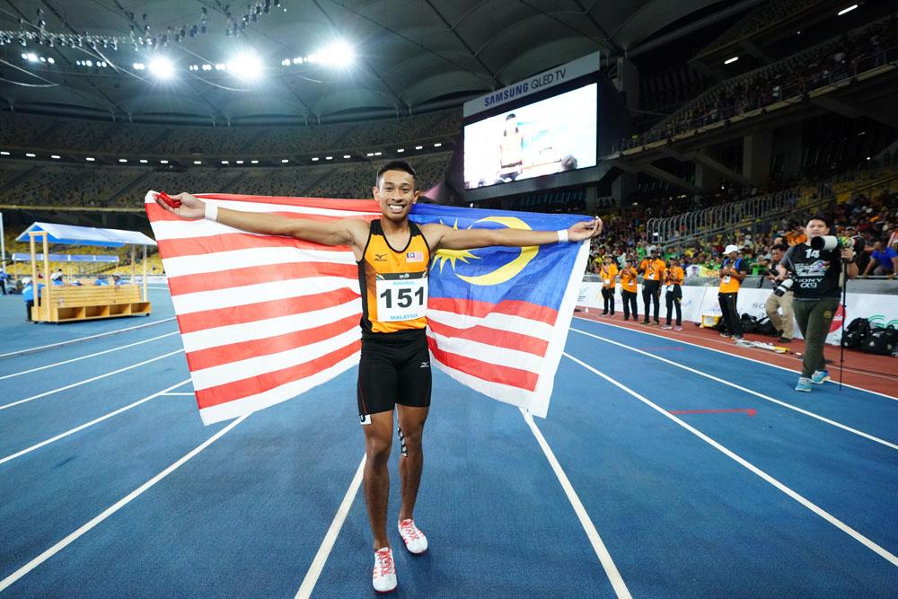 29th SEA Games KL2017 Olahraga Athletics - Khairul Hafiz Jantan