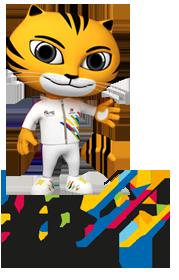 9th ASEAN Para Games 2017 - RIMAU Maskot