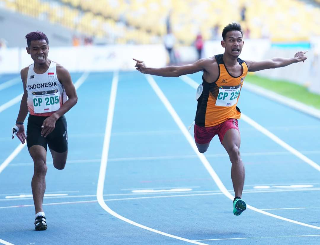 9th ASEAN Para Games KL2017 - 200M Men T36 Gold Medallist - Malaysia Mohd Ridzuan Mohd Puzi