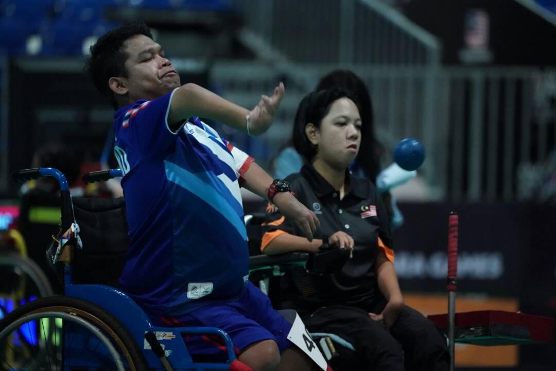 9th ASEAN Para Games KL2017 - Boccia Pair BC4 - Thailand vs Malaysia