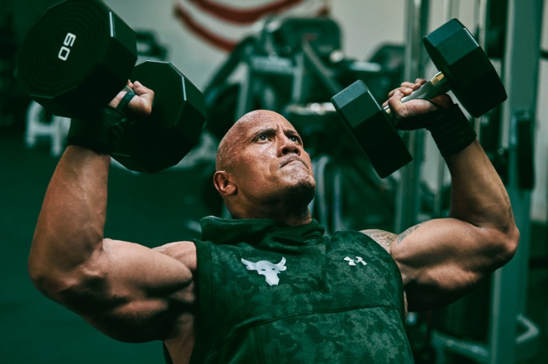 "exposición gemelo Hornear  Under Armour x Dwayne ""The Rock"" Johnson introduces Rock Collection -  Sports247"